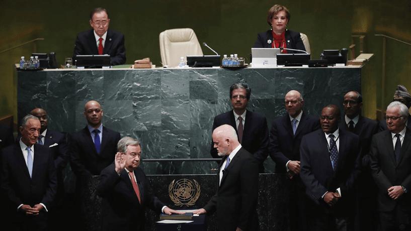 """António Guterres: """"O medo está a orientar as decisões"""""""
