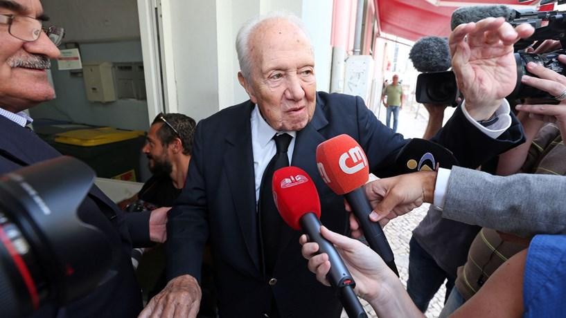 """Mário Soares 1924-2017: """"Quando cá não estiver, o que hei-de fazer?"""""""