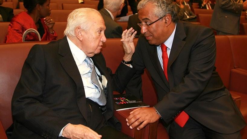Costa: Ninguém contribuiu tanto para a construção do Portugal pós-25 de Abril como Mário Soares