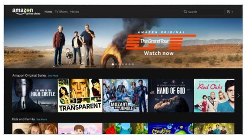 Amazon chega a Portugal para concorrer com Netflix