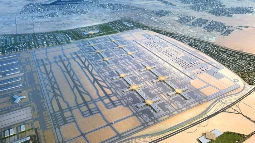 Dubai planeia maior aeroporto do mundo por 33,8 mil milhões de euros