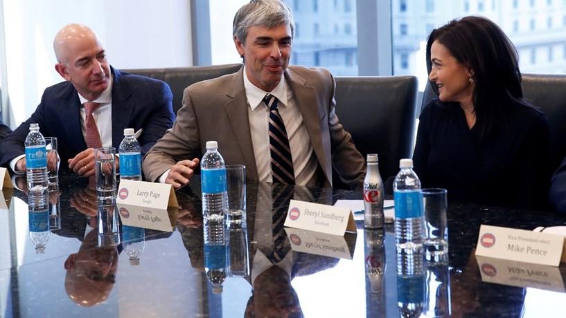 Trump reúne-se com líderes das tecnológicas e abre a porta a novos contactos