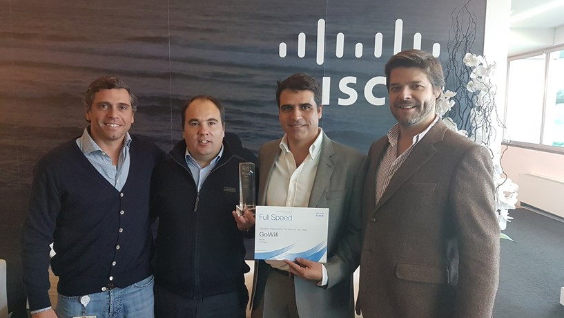 GoWi-fi na lista da Meraki Developer e distinguida pela Cisco