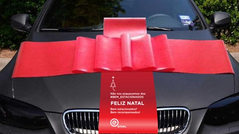 EMEL vai dar prendas a quem estacionou bem o carro em 2016