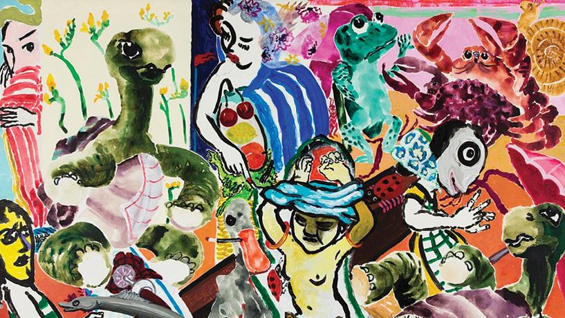 Os coloridos anos 80 de Paula Rego