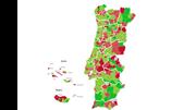 Veja o mapa com as exportações em todos os municípios
