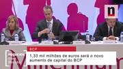 Quais os detalhes do aumento de capital do BCP?