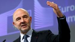 """Moscovici: A Grécia está no bom caminho mas tem de """"continuar a pedalar"""""""
