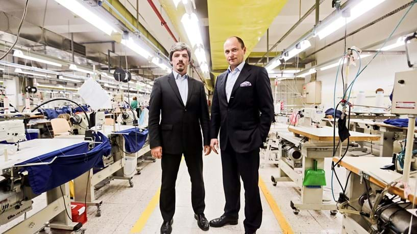 Manuel Pereira, CEO da TGI, e Alexander Schwarz, um dos fundadores da Gramax Capital.