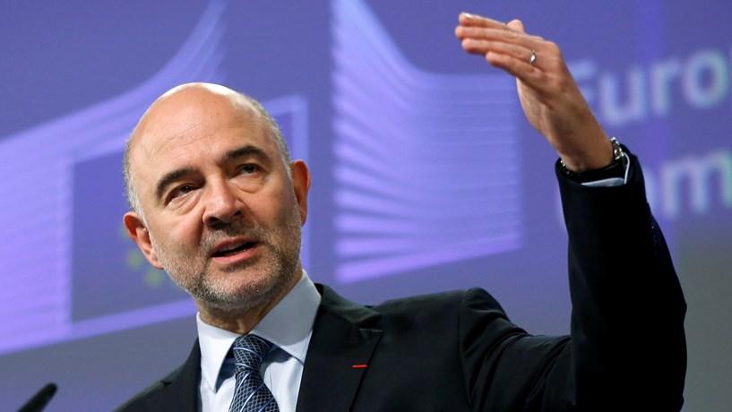 """Moscovici: Portugal merece um olhar mais positivo das agências de """"rating"""""""
