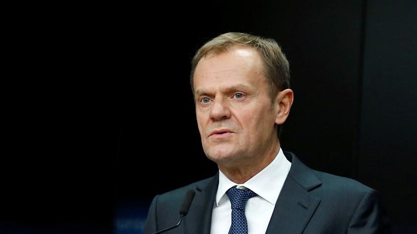 """Tusk: """"Não seremos intimidados por ameaças"""" sobre o Brexit"""