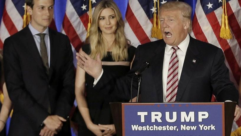 Donald Trump vai nomear genro conselheiro principal da Casa Branca