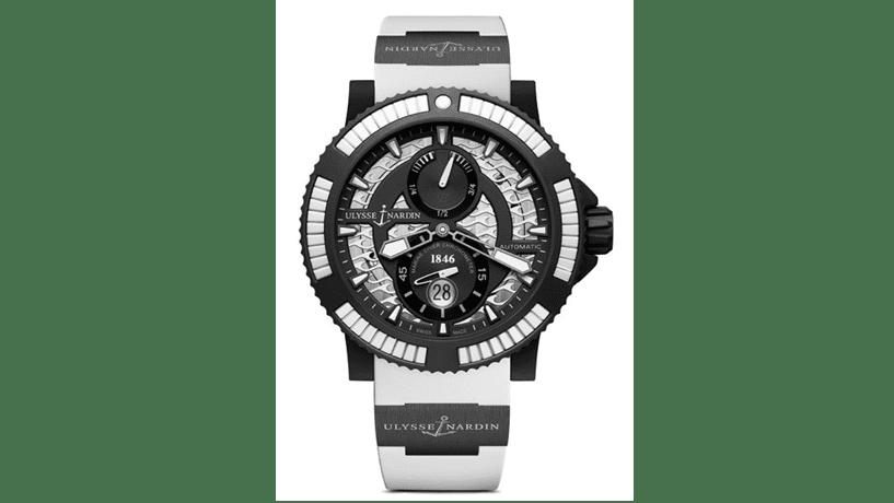 Alta relojoaria: Mergulho a horas