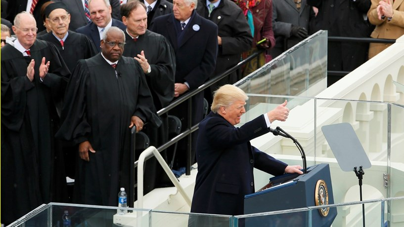 Trump regista a menor aprovação dos últimos 10 presidentes dos EUA