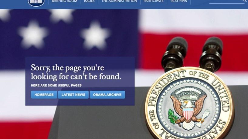 Depois das alterações climáticas e do Obamacare, página da Casa Branca elimina o espanhol