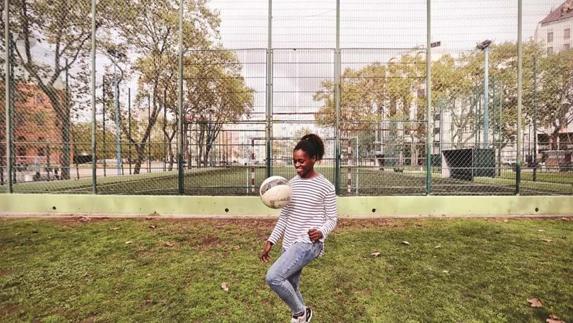 Diana Silva, a jogadora da família