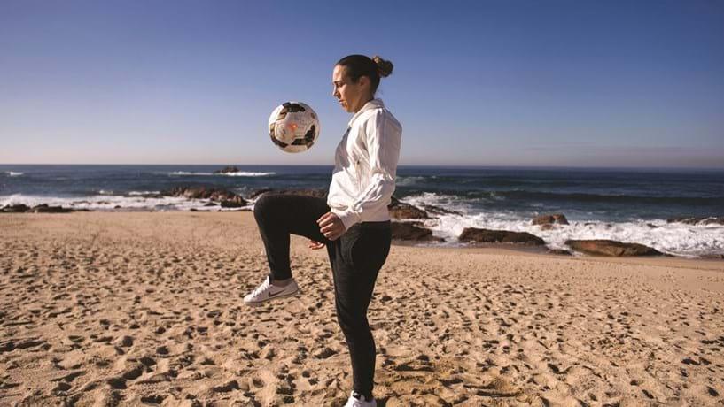 Edite Fernandes, a goleadora máxima da Selecção