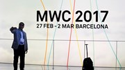 O primeiro dia do Mobile World Congress em Barcelona