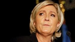 Marine Le Pen defende em Nantes um Estado mais forte contra imigração