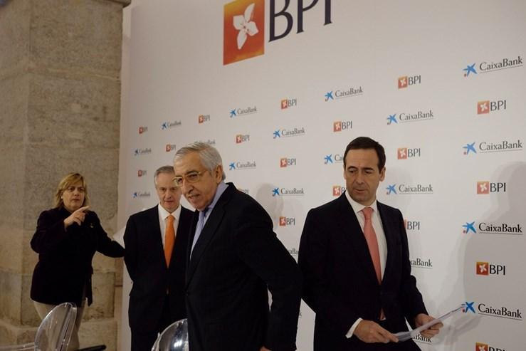 Grupo espanhol Caixabank assume controlo de 84,5% do português BPI
