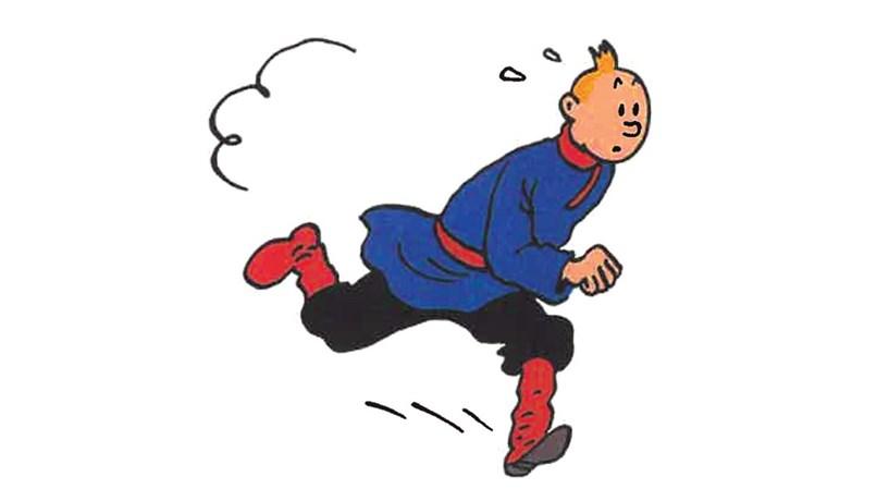 Tintin e a Rússia dos sovietes a cores