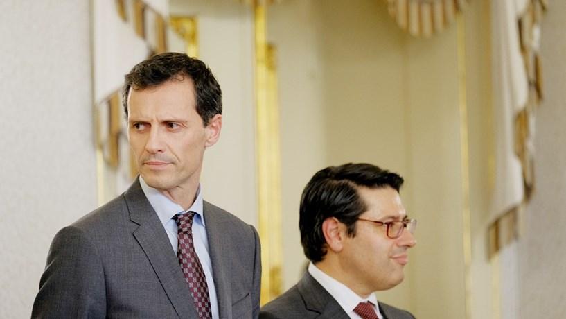 Presidente da República deu posse a secretários de Estado das Finanças e do Tesouro