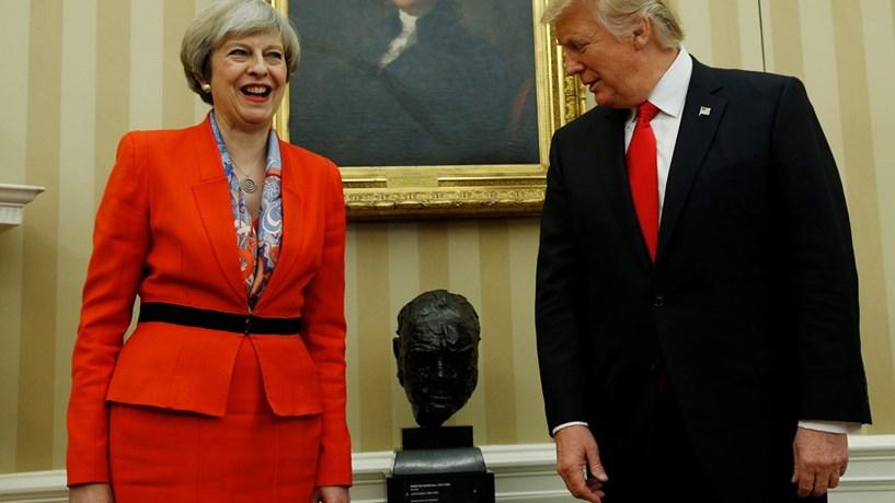 """Trump deseja """"boa sorte"""" aos britânicos nas eleições legislativas antecipadas"""