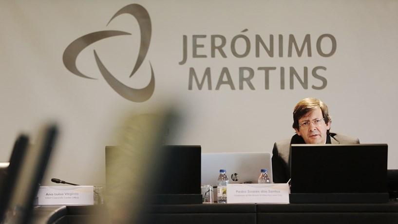 Haitong antecipa crescimento de 5% dos lucros da Jerónimo Martins para 180 milhões