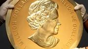 Moeda de ouro de 1 milhão de dólares roubada do Museu Bode em Berlim