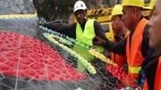 Galo de Barcelos gigante de Joana Vasconcelos promove Portugal na China