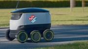 E se um robô lhe levar a pizza a casa?