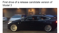 CEO da Tesla corrige expectativas sobre novo Model 3