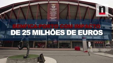 Impacto económico do jogo entre o Benfica e o Porto