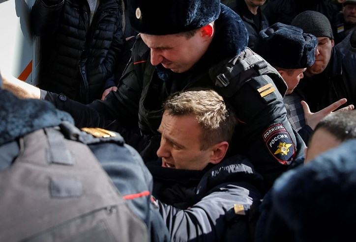 Manifestação contra a corrupção reúne maior multidão desde 2012 — Rússia