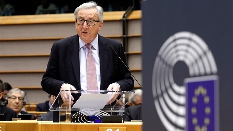 """Juncker diz que """"nascer na Europa é ganhar a lotaria"""""""