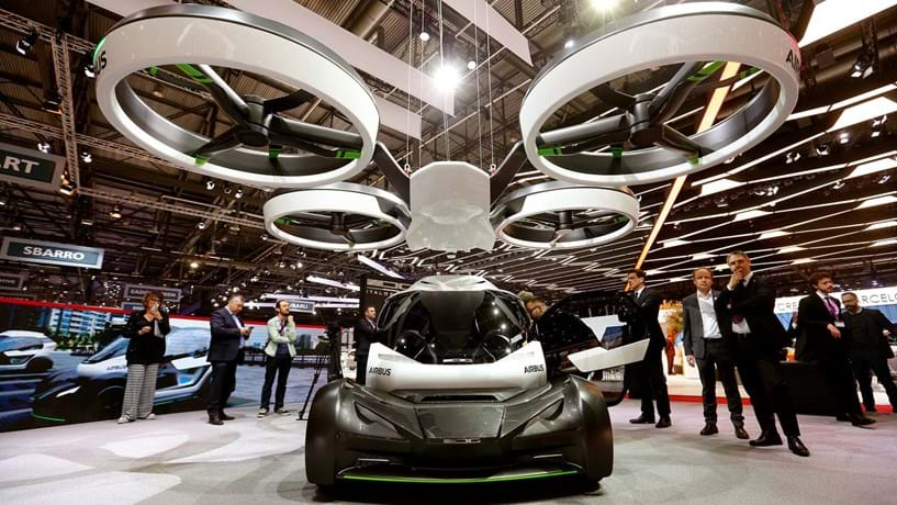 Airbus e Italdesign apresentam Pop.Up para voar e fugir ao trânsito