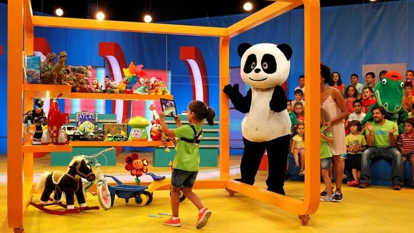 Canais Panda e RTP1 com níveis de som muito elevados