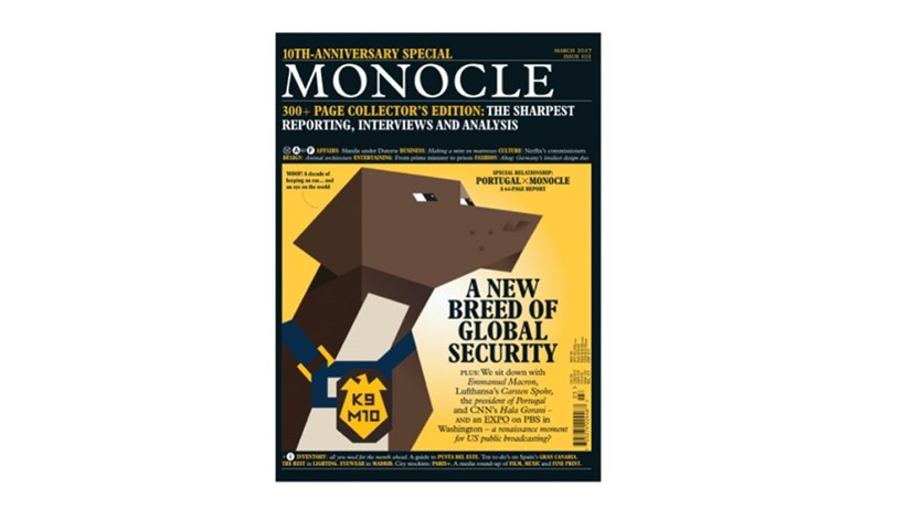 "Um ""soft power"" limitado na revista Monocle"