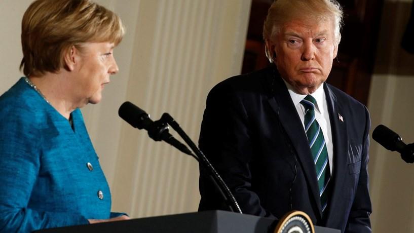 Trump critica Alemanha antes de cimeira de Bruxelas