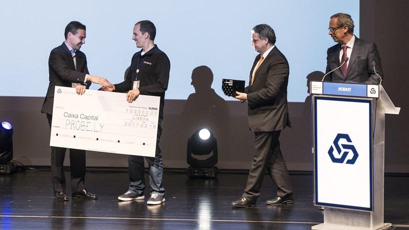 Probe.ly conquistou os 100 mil euros do Caixa Empreender Award