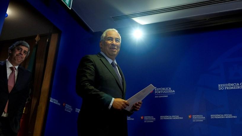 António Costa: Governo acabou com arco de poder e resquícios do muro de Berlim