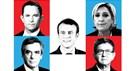 França: As diferenças de posições dos candidatos nos grandes temas
