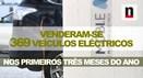 Vendas de carros eléctricos disparam