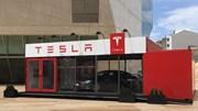 Tesla Pop-up store no Porto