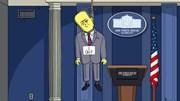 Os primeiros 100 dias de Trump vistos pelos Simpsons