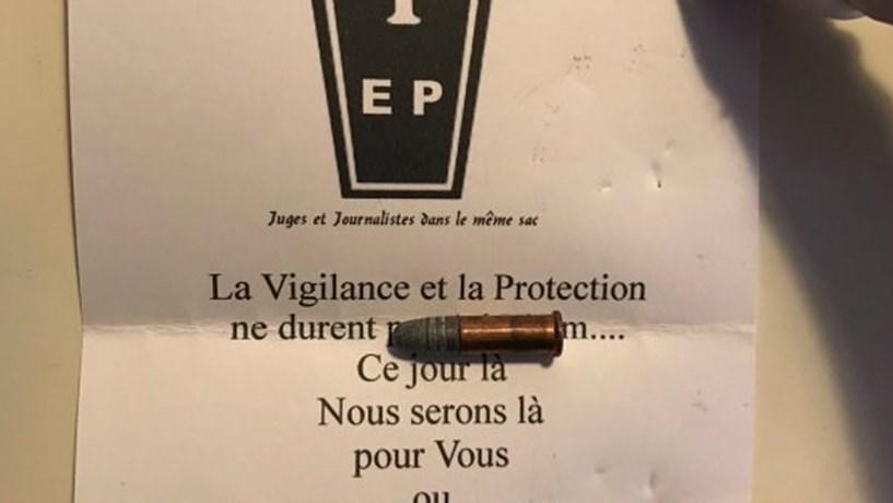 França investiga ameaças de morte a jornais e magistrados