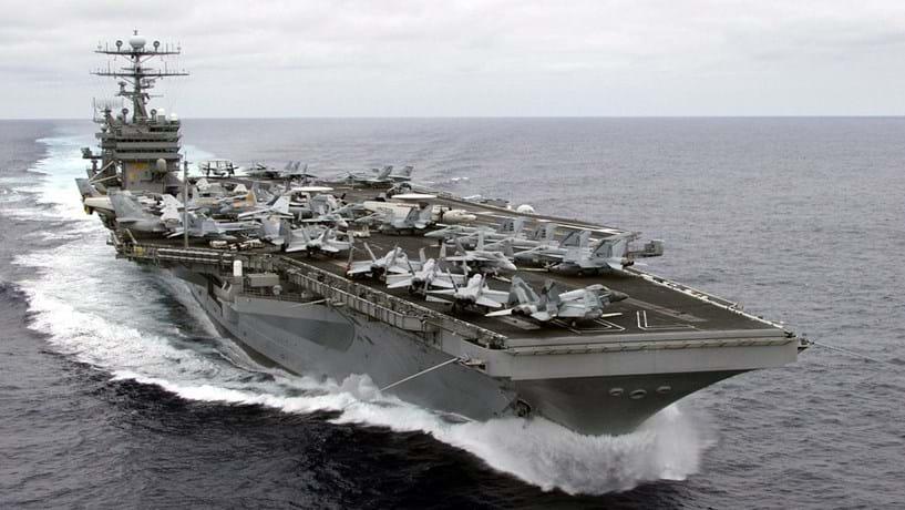 EUA enviam porta-aviões para a península coreana