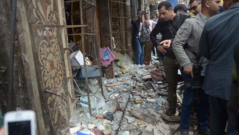 Estado Islâmico reivindica atentados em duas igrejas no Egipto