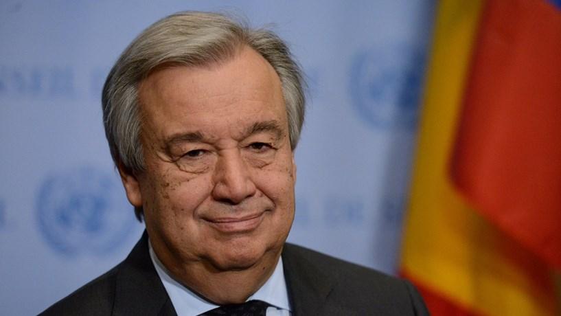 António Guterres diz que China é apoio para mundo aberto e multilateral