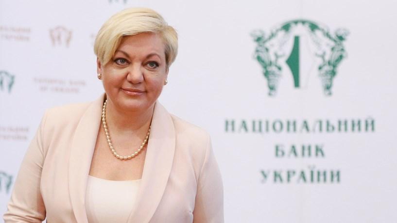 Governadora do banco central da Ucrânia apresenta demissão